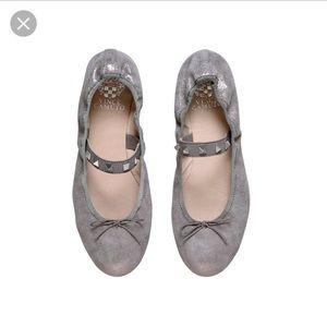 Vince Camuto l Prilla Metallic Silver Ballet Flat